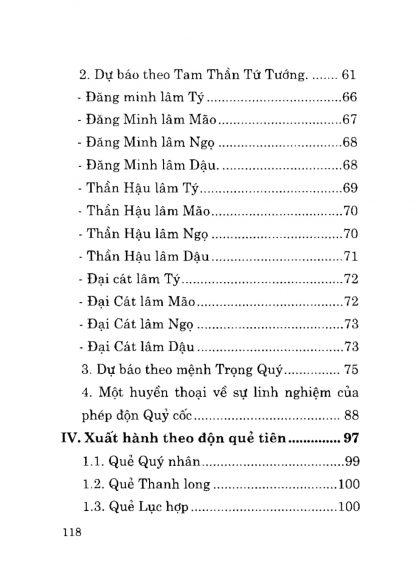 Phương pháp độn toán chọn ngày theo lục diệu.