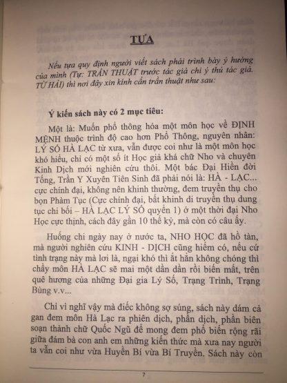 Bát tự Hà Lạc (có sách ghi là Tám chữ Hà Lạc) là một hình thức bói toán được xây dựng trên cơ sở triết lý của Kinh Dịch với các thuyết Can Chi