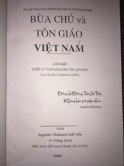 Bua Chú Và Tôn Giáo Việt Nam