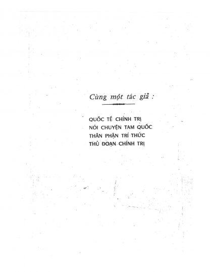 Mưu Kế Chinh Trị