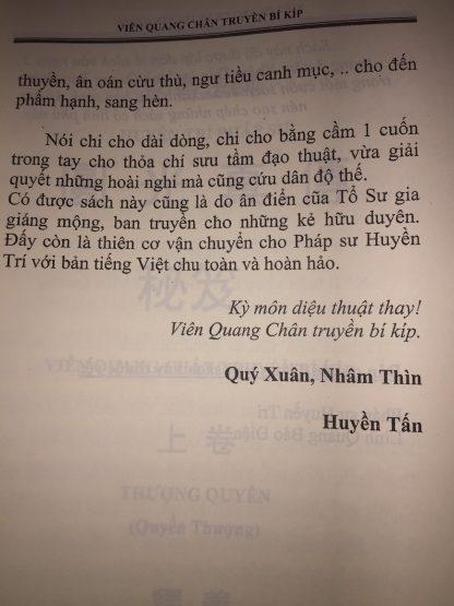 Viên Quang Chân Truyền Bí Kíp